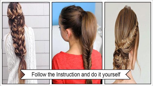 Beauty Fishtail Braid Hairstyles screenshot 2