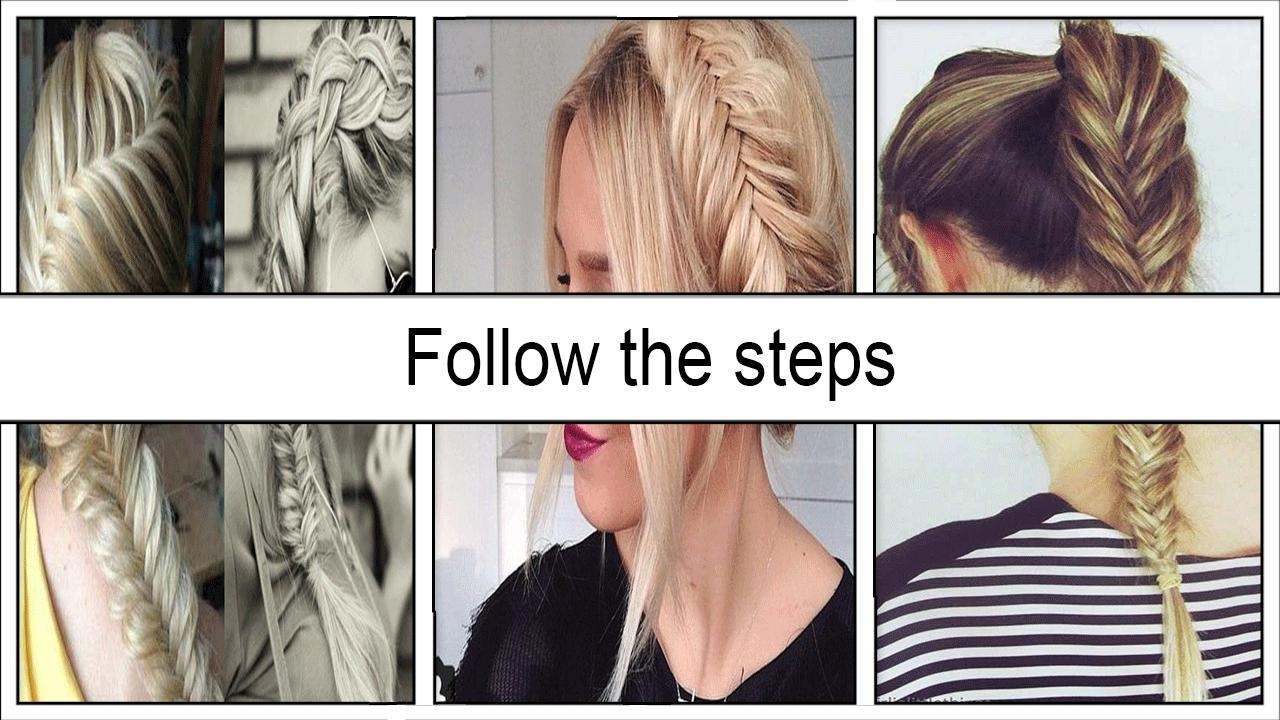 Beauty Fishtail Braid Hairstyles for Android - APK Download
