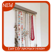 Easy DIY Necklace Holder icon