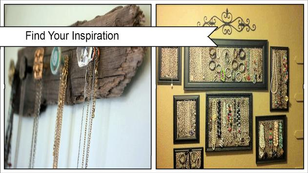 Easy DIY Necklace Holder poster