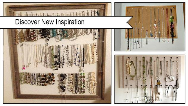 Easy DIY Necklace Holder screenshot 1