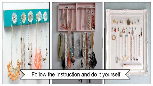 Easy DIY Necklace Holder screenshot 2
