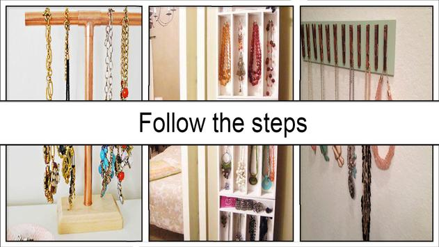 Easy DIY Necklace Holder screenshot 4