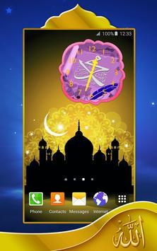 Muhammad Analog Clock apk screenshot