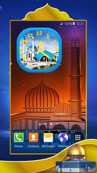 Mosques Analog Clock poster