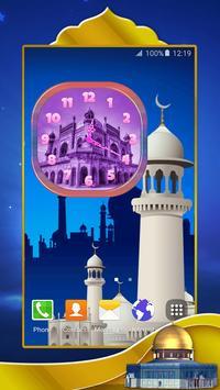 Mosques Analog Clock apk screenshot