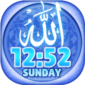 Allah Clock Weather Widget icon