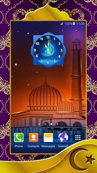 Allah Clock Widget poster