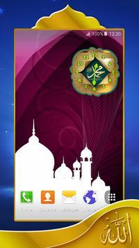 Islam Alarm Clock Widget apk screenshot
