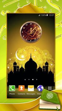 Quran Analog Clock poster