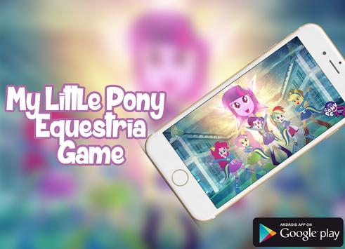 My Litle Equesttria Pony Game poster