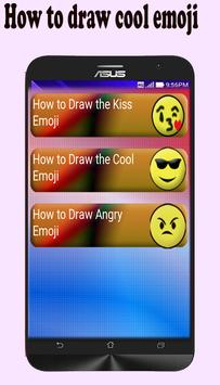 How to Draw Emoji apk screenshot