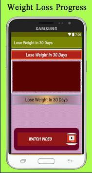 Lose Weight In 30 Days apk screenshot
