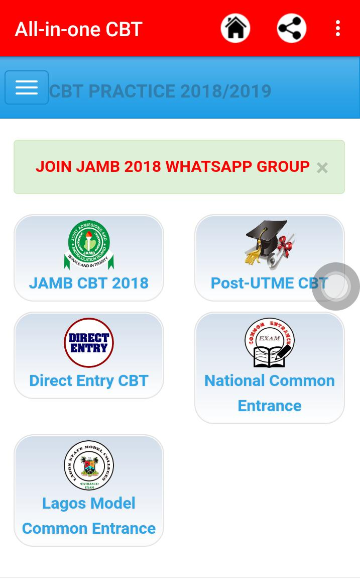 JAMB CBT (2018 Update) for Android - APK Download