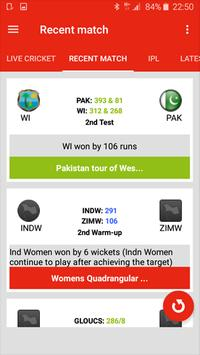 All Cricket -Live Score, News apk screenshot