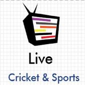 Cricket & Sports Live 图标