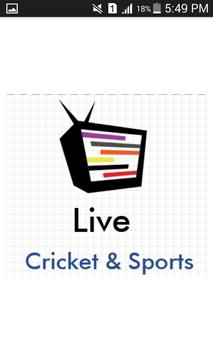 Cricket & Sports Live poster