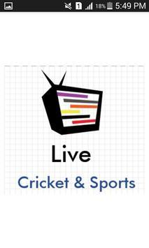 Cricket & Sports Live Cartaz