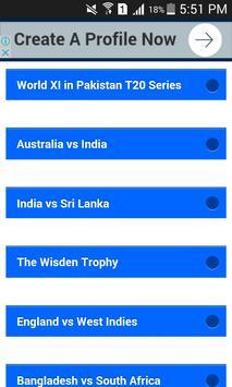 Cricket & Sports Live screenshot 1