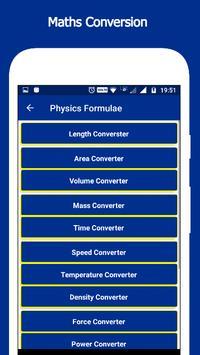 Physics Formulae screenshot 2