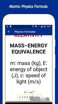Physics Formulae screenshot 6