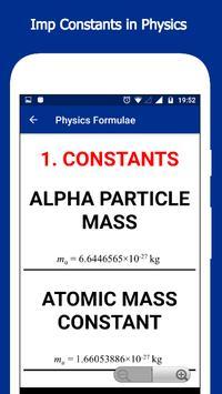 Physics Formulae screenshot 7