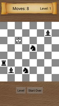 Chess Ending puzzle poster