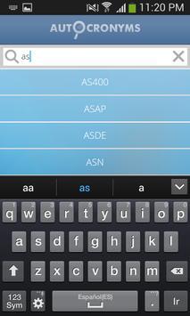 Autocronyms Lite apk screenshot