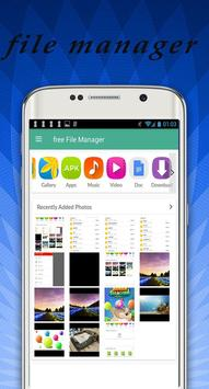 free file manager apk screenshot
