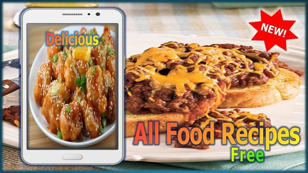 All food recipes free descarga apk gratis comer y beber aplicacin all food recipes free captura de pantalla de la apk forumfinder