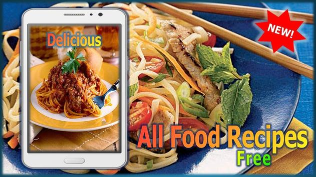 All food recipes free descarga apk gratis comer y beber aplicacin all food recipes free poster forumfinder