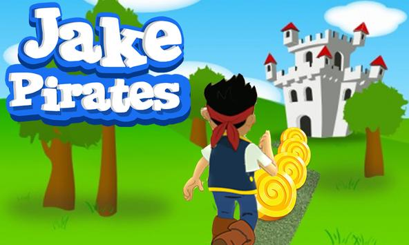 Subway Pirate Jake Surf screenshot 3