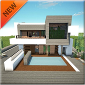 Modern House Building icon