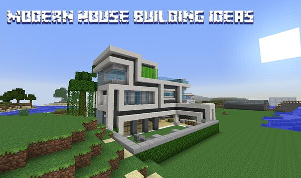 Modern House Building poster