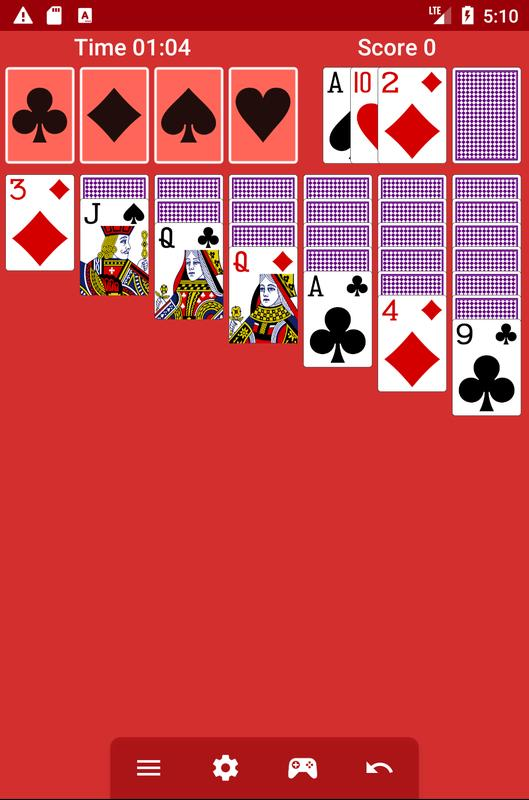 how to play 2 player solitaire