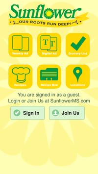 Sunflower MS poster