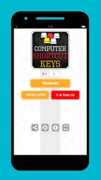 Computer shortcut keys hindi poster
