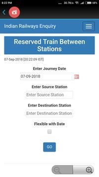 All Indian Railway Info screenshot 2