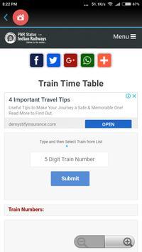 All Indian Railway Info screenshot 4