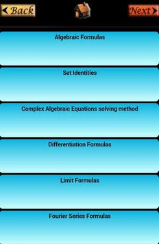 All In One Formulae apk screenshot