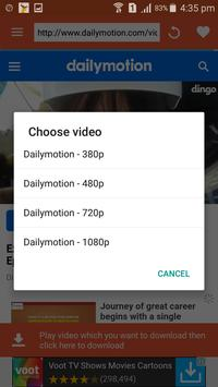 All in One Video Downloader apk screenshot