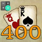 400 Card Game Calculator icon