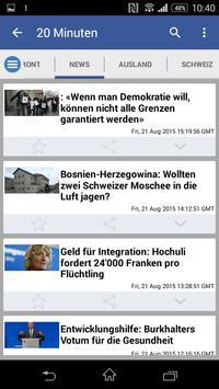 Swiss News apk screenshot