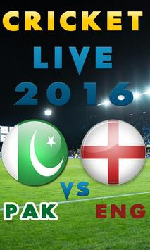 Pak vs Eng Live HD poster