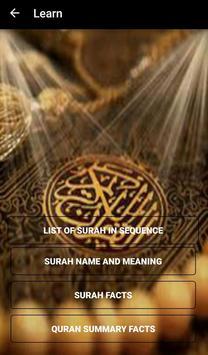 Quran Fact Game screenshot 1