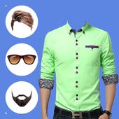 Man Pro Shirt Photo Suit icon