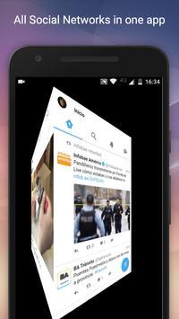 Social Media All in One App poster