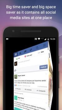 Social Media All in One App screenshot 1