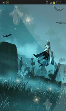 All Souls` Day 3D HD LWP apk screenshot