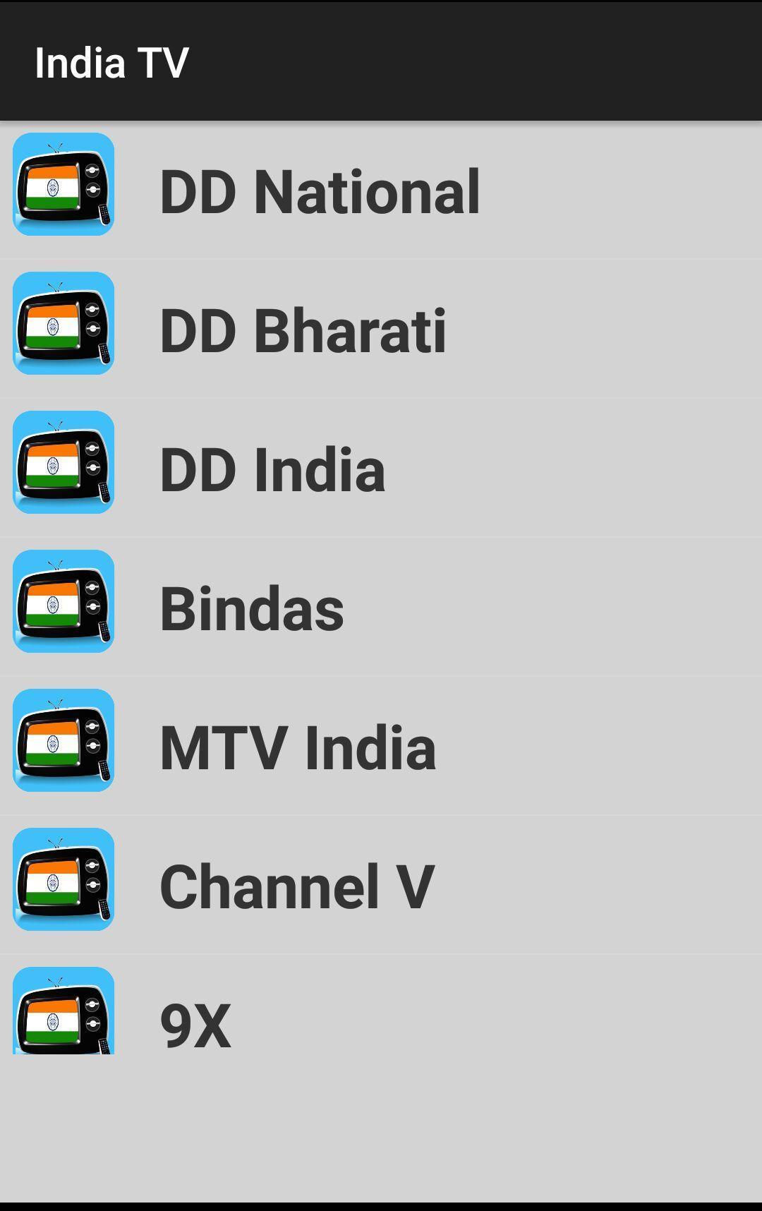 India TV - All Indian TV Channels HD for Android - APK Download
